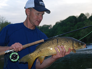 Smallmouth Bass & Carp Streams Fly Fishing Report - July 23, 2020