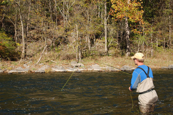 Smallmouth Bass Streams Fly Fishing Report- October 10, 2017
