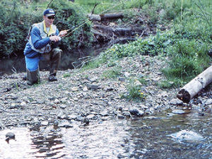 Stocked Trout Streams Fly Fishing Report - January 7, 2021