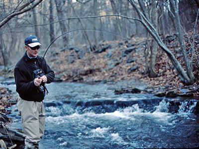 Stocked Trout Streams Fly Fishing Report - November 19, 2020