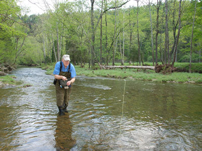 Stocked Trout Streams Fly Fishing Report - June 14, 2018