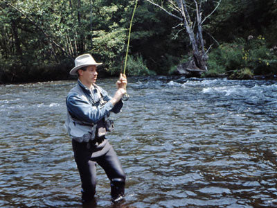 Stocked Trout Streams Fly Fishing Report - August 21, 2018