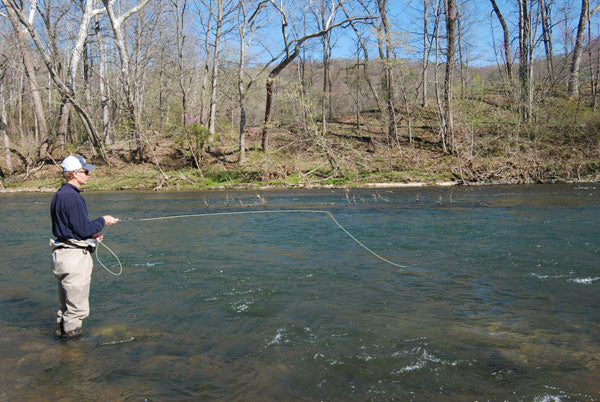 Stocked Trout Streams Fly Fishing Report- May 8, 2018