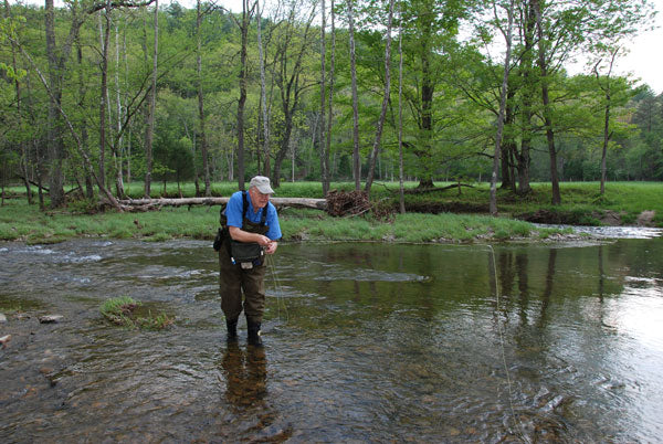 Stocked Trout Streams Fly Fishing Report- May 1, 2018