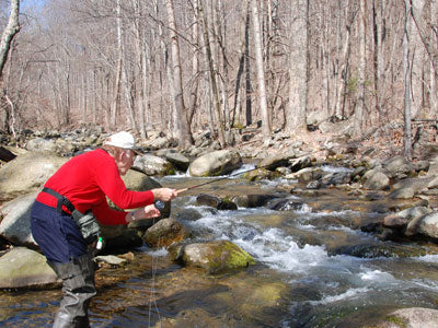 Mountain Trout Streams Fly Fishing Report--April 23, 2018