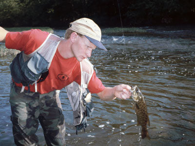Smallmouth Bass Streams Fly Fishing Report --July 13, 2019