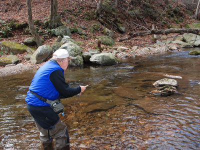 Mountain Trout Streams Fly Fishing Report - February 27, 2019