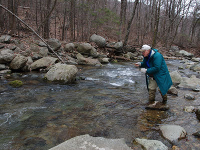 Mountain Trout Streams Fly Fishing Report _ March 7, 2019