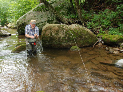 Mountain Trout Streams Fly Fishing Report - July 18, 2019