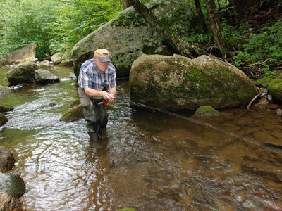 Mountain Trout Streams Fly Fishing Report - July 25, 2019