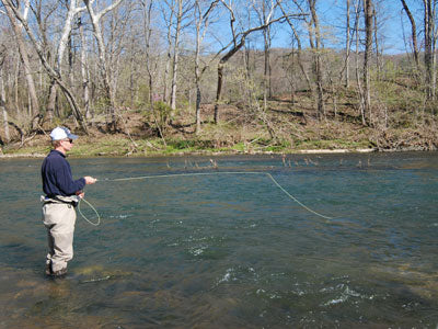 Stocked Trout Streams Fly Fishing Report - February 27, 2019