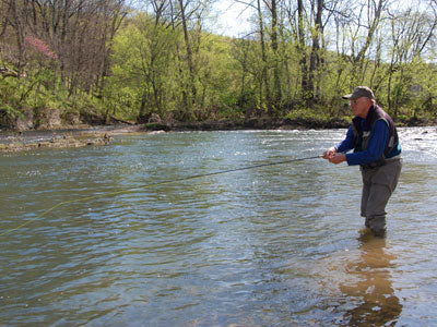Stocked Trout Streams Fly Fishing Report - March 13, 2019