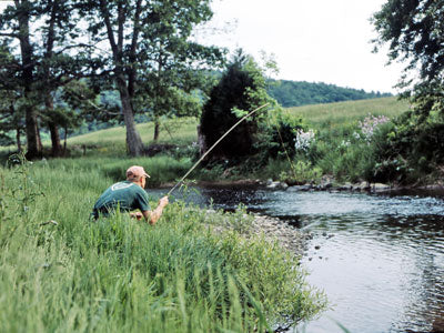 Stocked Trout Streams Fly Fishing Report - July 23, 2019