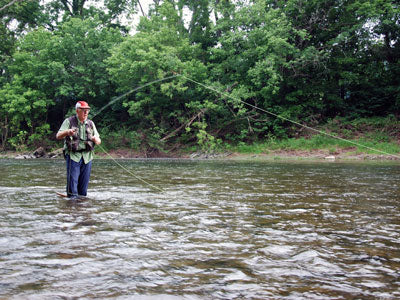 Stocked Trout Streams Fly Fishing Report - August 8, 2019