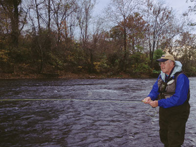 Stocked Trout Streams Fly Fishing Report - Update November 10, 2018