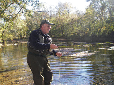 Stocked Trout Streams Fly Fishing Report - November 20, 2019