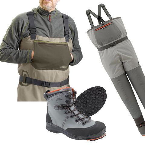 Wading Boots, Waders, and Hippers