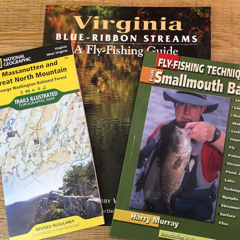 Fishing Books, Maps & DVDs
