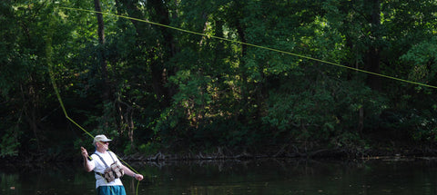Fly Fishing Lesson on the Shenandoah River