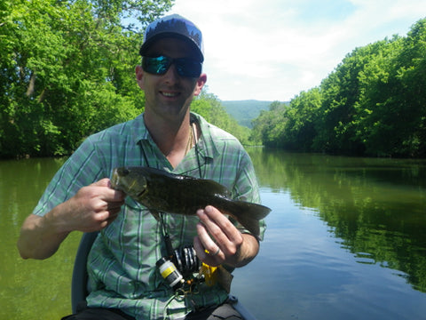 Smallmouth Bass Guide Trip on the Shenandoah River