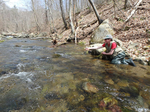 Mountain Trout Fishing in the Shenandoah National Park