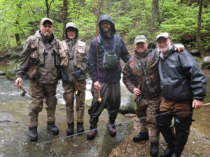 Fly Fishing Virginia Mountain Trout School