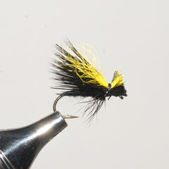 Mr. Rapidan Delta Wing Caddis, Black