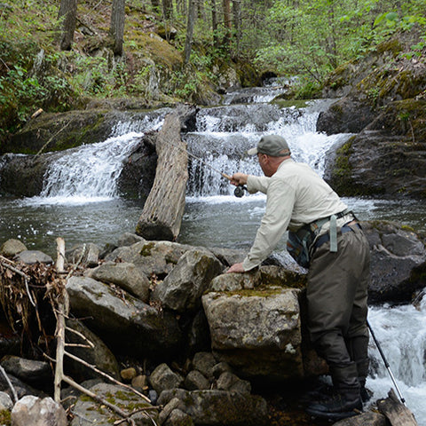 Mountain Trout Fishing School