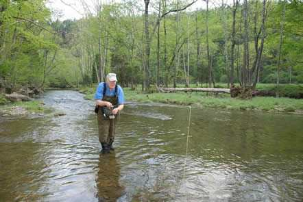 Fly Fishing Virginia's Passage Creek
