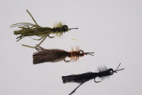 Murray's Heavy Olive, Brown and Black Hellgrammite