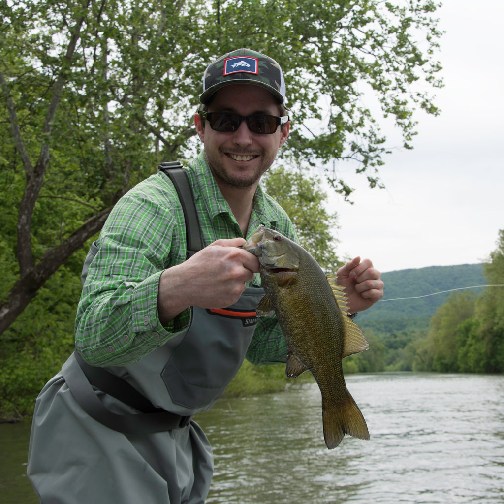 Fly Fishing Smallmouth Bass Guided Float Trip on the Shenandoah River near Edinburg, Virginia - Murray's Fly Shop