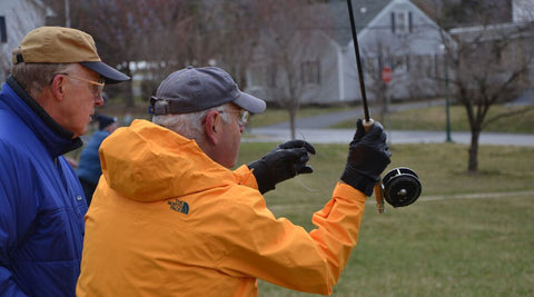 Fly Casting 101 with Murray's Fly Shop in our Fly Casting and Rigging Tackle Class