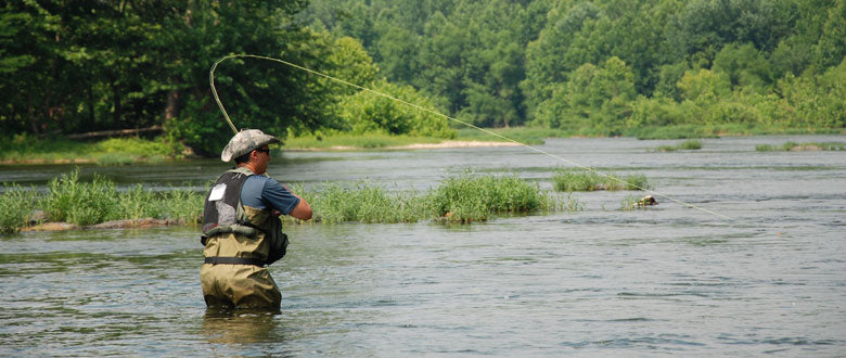 Fly Fishing on the Shenandoah River for Smallmouth Bass