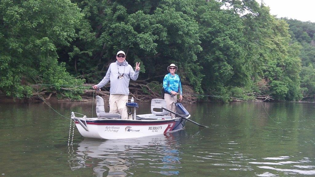 Virginia Guided Fly Fishing Smallmouth Bass Float Trip
