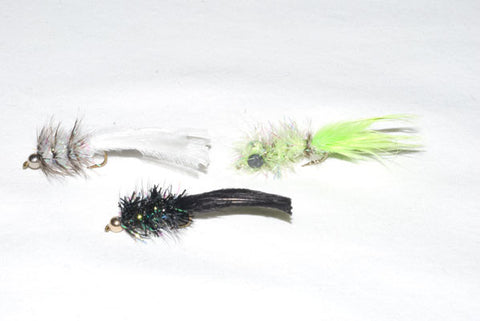 Murray's Pearl Marauder, Murray's Chartreuse Marauder and Murray's Black Marauder.