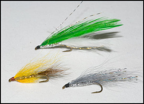 Shenandoah Nine Three Simple Streamer, Mr. Rapidan Streamer and Shenandoah Silver Ghost Simple Streamer