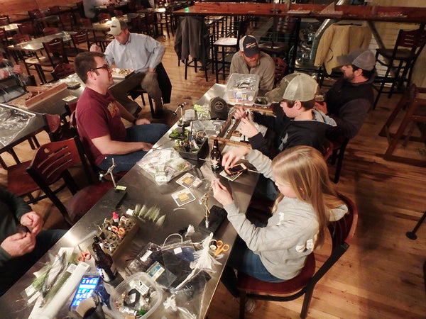 Fly Tying Class - Murray's Fly Shop - Woodstock Brewhouse