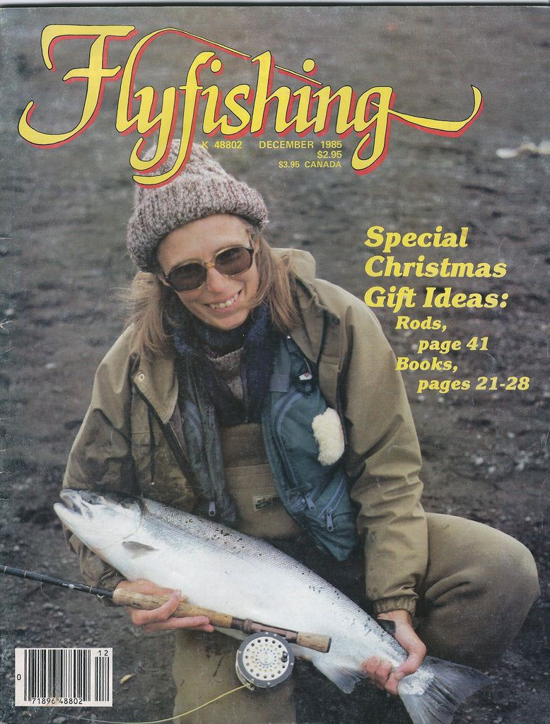 Flyfishing Magazine December 1985 with Harry Murray's article Murray's Hellgrammite