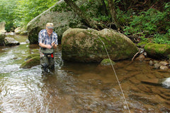 Murrays fly shop fly fishing podcast on Virginia Trout fishing