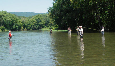 half day on the stream fly fishing lessons