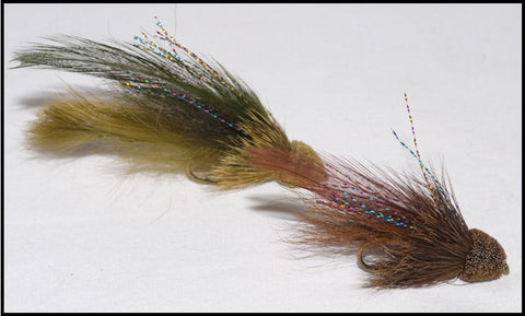 Murray's Sculpin Marauder and Murray's Stonecat Streamer
