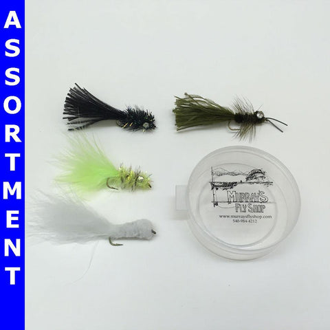 Bass Fly Assortment