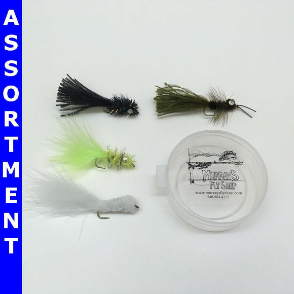 Smallmouth Bass Fly Assortment - Murray's Fly Shop