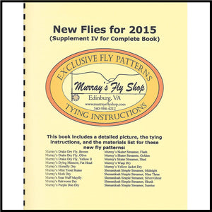 Exclusive Fly Patterns New Flies for 2015 - Murray's Fly Shop