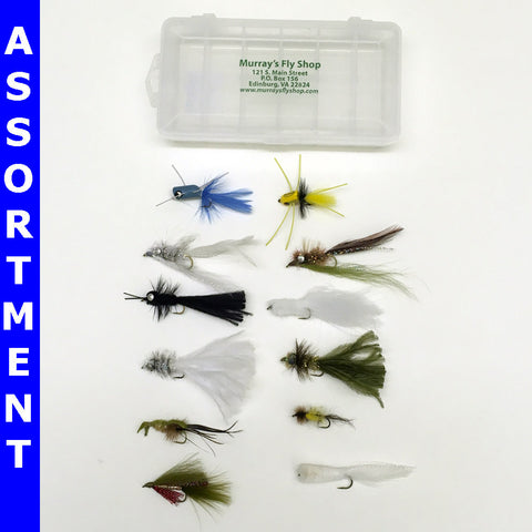 Murray's Deluxe Bass Fly Assortment - Murray's Fly Shop