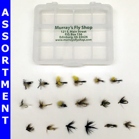 Murray's Deluxe Trout Dry Fly and Nymph Assortment