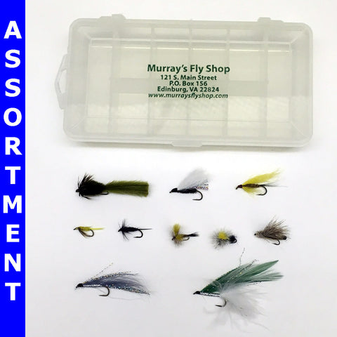 Large Trout Stream Fly Assortment