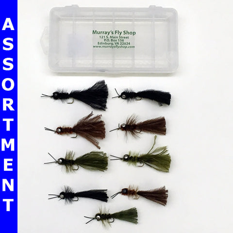 Murray's Heavy Hellgrammite Bass Fly Assortment