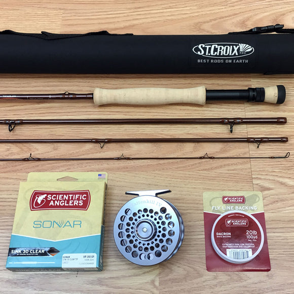 St. Croix Imperial 908 Fly Rod Outfit with Battenkill Disc Reel