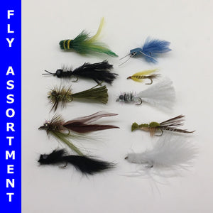 Virginia's Ten Best Bass Flies Assortment